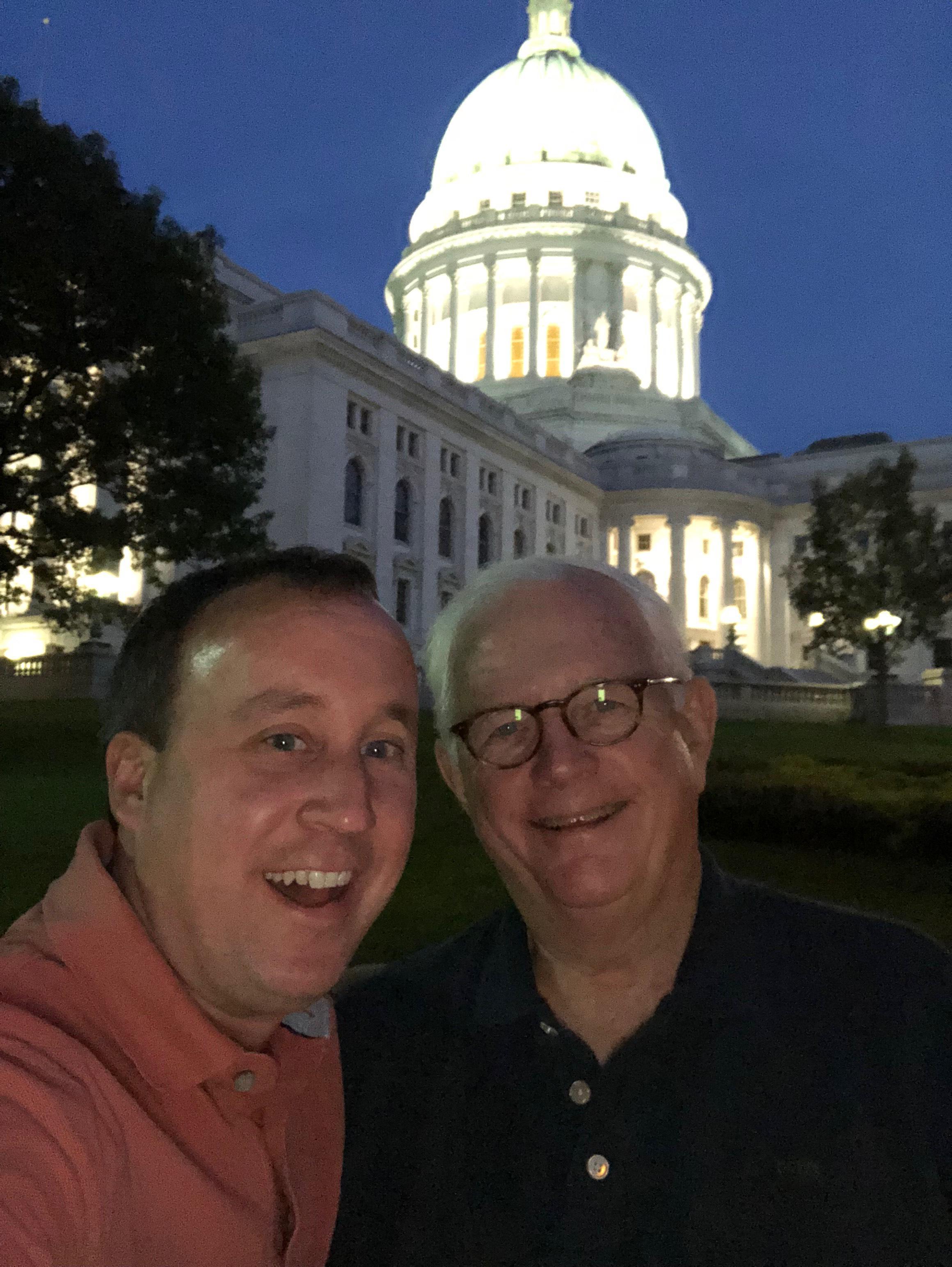 Brad and Gene road trip